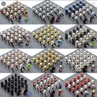 23pcs STAR WARS Military Clone Minifigures 501st Legion YODA JEDI for Lego