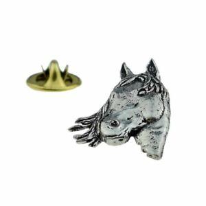 Hawkdale English Pewter Lapel Pin Badge - Animal Designs - Made In UK