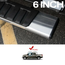 """6"""" OE ALUMINUM SIDE STEP RUNNING BOARDS FOR 07-18 TUNDRA CREWMAX/EXTENDED CREW"""