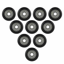 10pcs POM Passive Wheel Plastic Pulley w/ 625zz Bearing 5mm Bore For 3D Printer