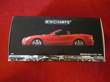 MINICHAMPS ® 100 037530 1:18 Mercedes-Benz SL-Class 2009 Rouge Nouveau Neuf dans sa boîte
