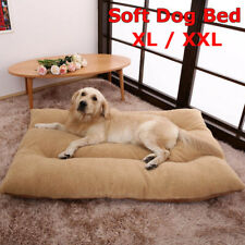 Dog Bed Pet Cat Puppy Deluxe Faux Fur Washable Cushion Soft Mat Extra Large Size