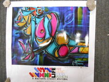 Wynwood rare limited issued street festival Miami glossy art poster