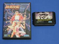 FATAL FURY Garou Densetsu Mega Drive SEGA GENESIS Japan