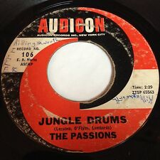 The Passions: Jungle Drums / Gloria 45 - Audicon