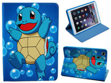 For Apple iPad Mini 1 2 3 Happy Pokemon Squirtle Pokeball Stand Case Cover