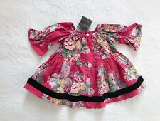 RARE Matilda Jane sz 18m 2 Holly + Fiona peasant top *HTF XMAS SPARKLETOWN * NWT