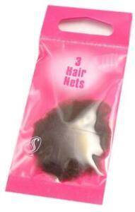 Serenade - 3 Fine Mesh Elasticated Hair Nets