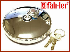 Fahler Stainless Steel Locking Fuel Diesel Tank Cap DAF, IVECO, VOLVO, MAN etc