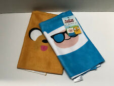 ** Adventure Time hand towel Set - Loot Crate DX Exclusive