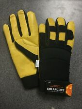SolarCore Nasa Inspired WestChester Protective Gear Gloves - Yellow M23C
