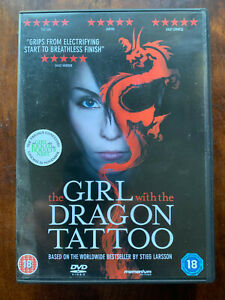 The Girl with the Dragon Tattoo DVD Stieg Larrson's Swedish Crime Thriller Movie