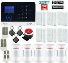 H71 IP WiFi Cloud APP GSM RFID Wireless Home House Security Alarm Burglar System