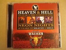 CD / HEAVEN & HELL - NEON NIGHTS - LIVE AT WACKEN