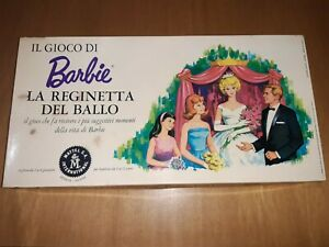 Barbie la reginetta del ballo mattel international VINTAGE GIOCO DA TAVOLO TOYS