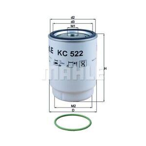 1 Kraftstofffilter MAHLE KC 522D passend für MAN