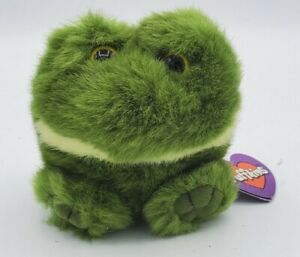 1994 Vintage LILY the frog Plush Puffkins SWIBCO with Tags! Style 6600