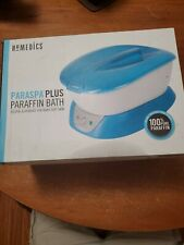Homedics ParaSpa Plus Paraffin Wax Bath for Smoother Hands&Feet NEW Open Box