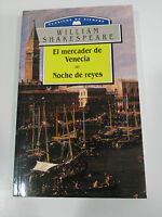 El Merchant de Venice + Night de Kings Shakespeare Book Cover Paperback Am