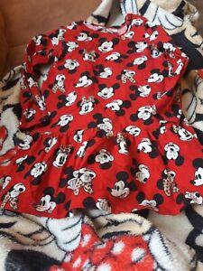 Minnie Mouse Kleid  Größe 92-98