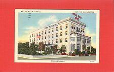 West Palm Beach,Fl Florida Royal Palm Hotel, at Royal Park Bridge used 1952