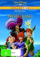PETER PAN Return To Neverland R4 DVD Free Post More Disney DVDs In Store