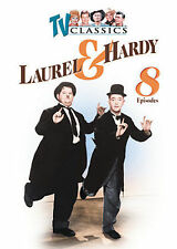 Laurel And Hardy  8 Episodes Movie DVD 2008
