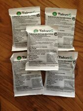 Syngenta and Talon G Rat Bait Mouse bait mini pellets 5 Pkts of 25 Gram Pellets