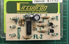 CIRCUITRON 5102 FL-2 Alternating Flasher Circuit Board   MODELRRSUPPLY  $5 Offer