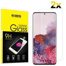 2-Pack Khaos For Samsung Galaxy S20 Tempered Glass Screen Protector