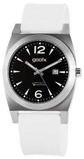 gooix analoge Armbanduhren mit Silikon -/Gummi-Armband für Herren