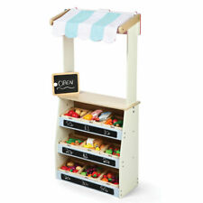 Tidlo Wooden Roleplay Play Shop and Theatre Learn Play Stage Puppets Store