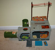 Vintage 1989 Teenage Mutant Ninja Turtles TMNT Playmates Sewer Playset