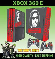 Xbox 360 E fhritp f@*k su derecho en la 001 Sticker Skin & 2 Pad Skin