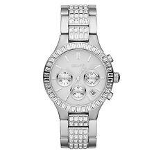 DKNY Uhr NY8315 Damen Chronograph Edelstahl Armbanduhr Datum Kristalle Quarz NEU