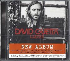 DAVID GUETTA / LISTEN - CD 2014 * NEW & SEALED  * NEU *