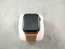 Apple Watch Series 4 44mm Rose Gold Stainless Steel Ceramic Case Sapphire Crysta