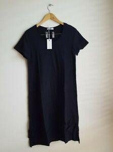 3rd Story The Label Megan Tunic Tee T-Shirt Dress Size Small RRP $69 - Black