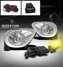 05 06 HONDA CR-V CRV BUMPER DRIVING FOG LIGHTS LAMPS W/3000K HID KIT+BEZEL COVER