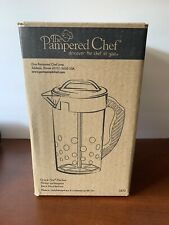 New listing Rare! New In Box The Pampered Chef Quick Stir Clear Pitcher 2 Qt #2272 Nib