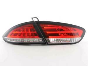 SEAT LEON 1P CLEAR LED TAIL LIGHTS 2009-2012 MODEL