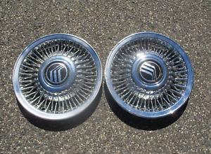 Genuine 1992 to 1997 Mercury Marquis hubcaps wheel covers beaters F6MZ1130AA