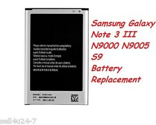 New 3200mAh Replacemen Battery For Samsung Galaxy Note 3 N3 III N9000 N9005 S9