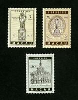 Macau Stamps # 365-7 VF OG LH Set of 3 Scott Value $42.00