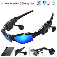 Sport Stereo Wireless Bluetooth Headset 3 colorful Sun lens Earphones Sunglasses
