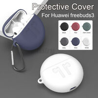 Wireless Earbud Silicone Protective Case For Huawei freebuds 3 bluetooth  @#*