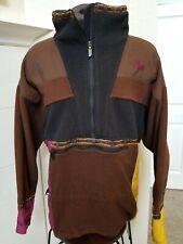 "Men's Vintage NORTH FACE ""RAGE"" Anorak  Aztec Print Fleece Pullover sz XL"
