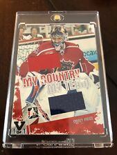 07/08 My Countey My Team Dual Jersey Carey Price Hockey Card #1/1 #MCT-08