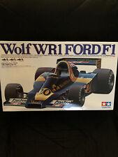 Vintage Tamiya 1/12 Scale WOLF WR1 Ford F1 Jody Scheckter Car Kit 12024