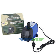 110V Submersible Pump Aquarium Fish Tank Fountain Water Hydroponic 2800LPH